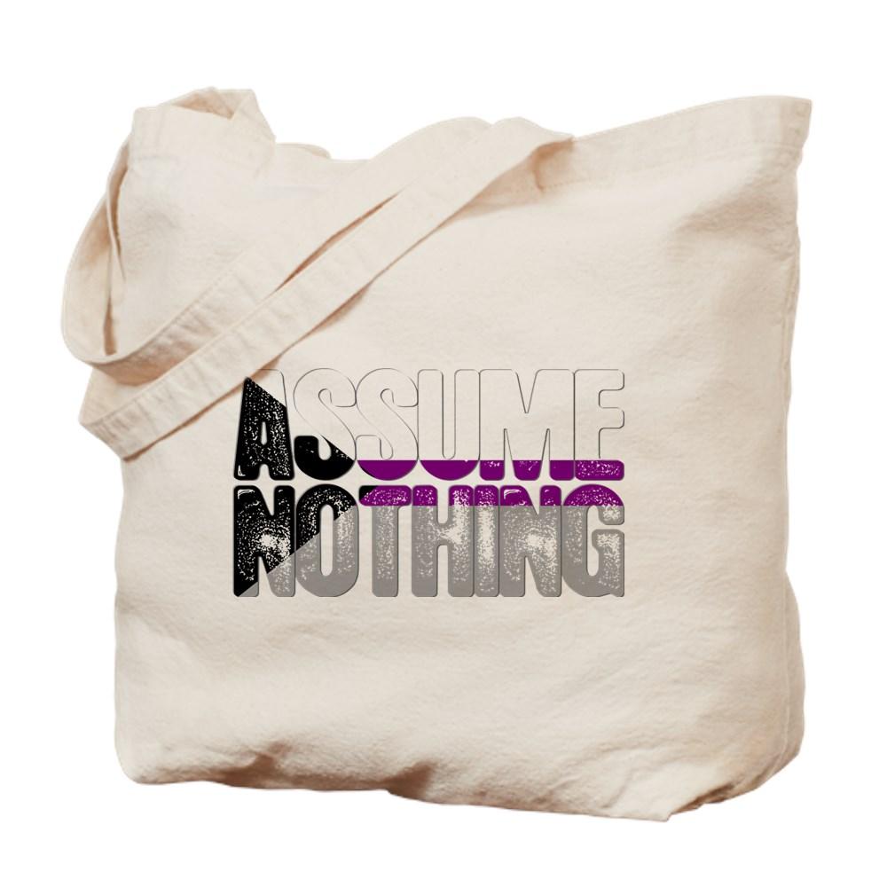 Assume Nothing Demisexual Pride Tote Bag