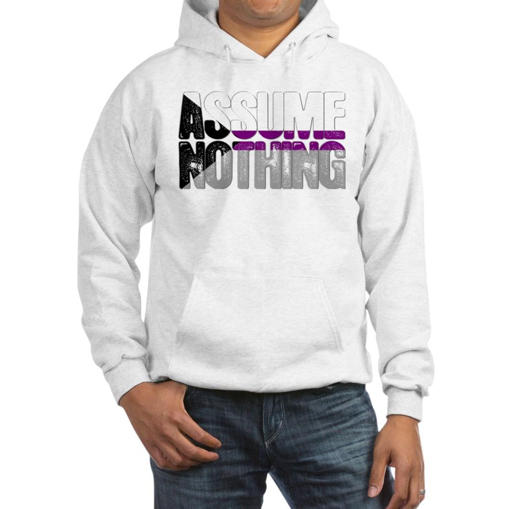 Assume Nothing Demisexual Pride Hooded Sweatshirt