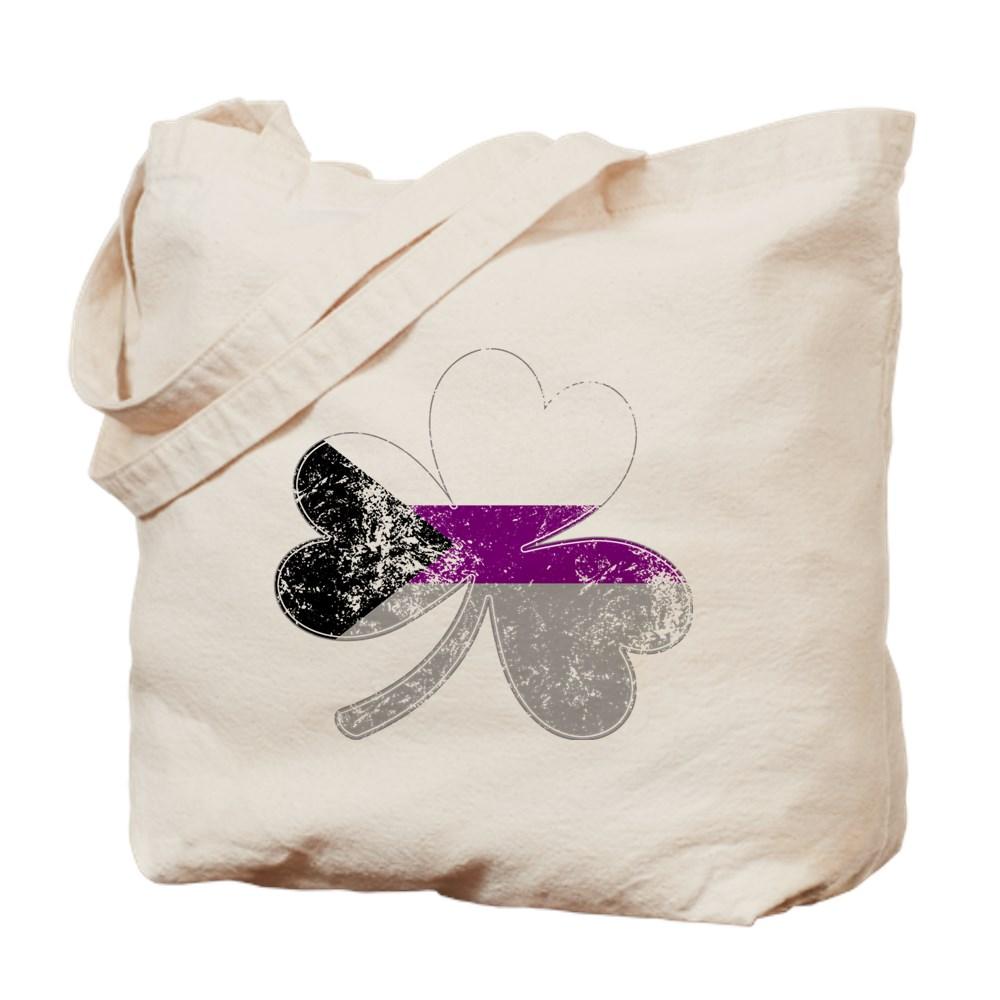 Demisexual Shamrock Pride Flag Tote Bag