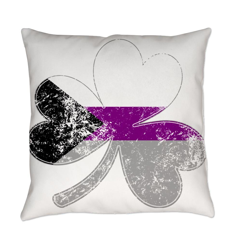 Demisexual Shamrock Pride Flag Everyday Pillow