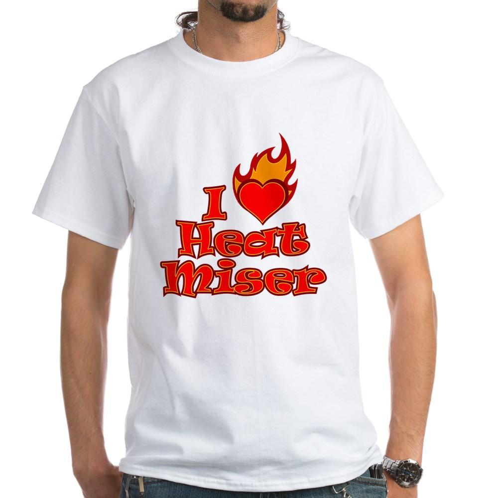 I Heart Heat Miser White T-Shirt