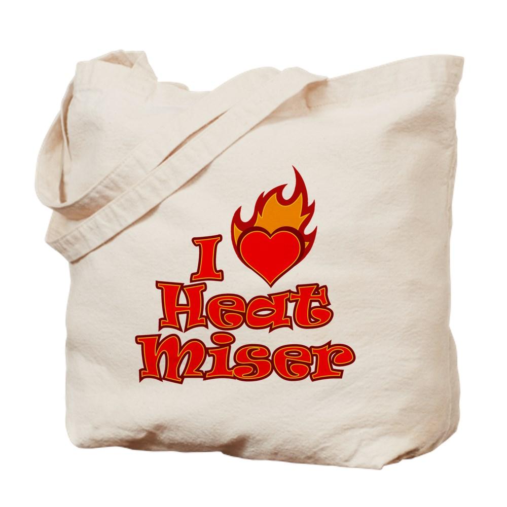 I Heart Heat Miser Tote Bag