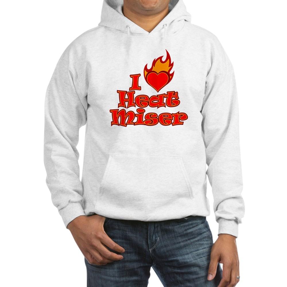I Heart Heat Miser Hooded Sweatshirt