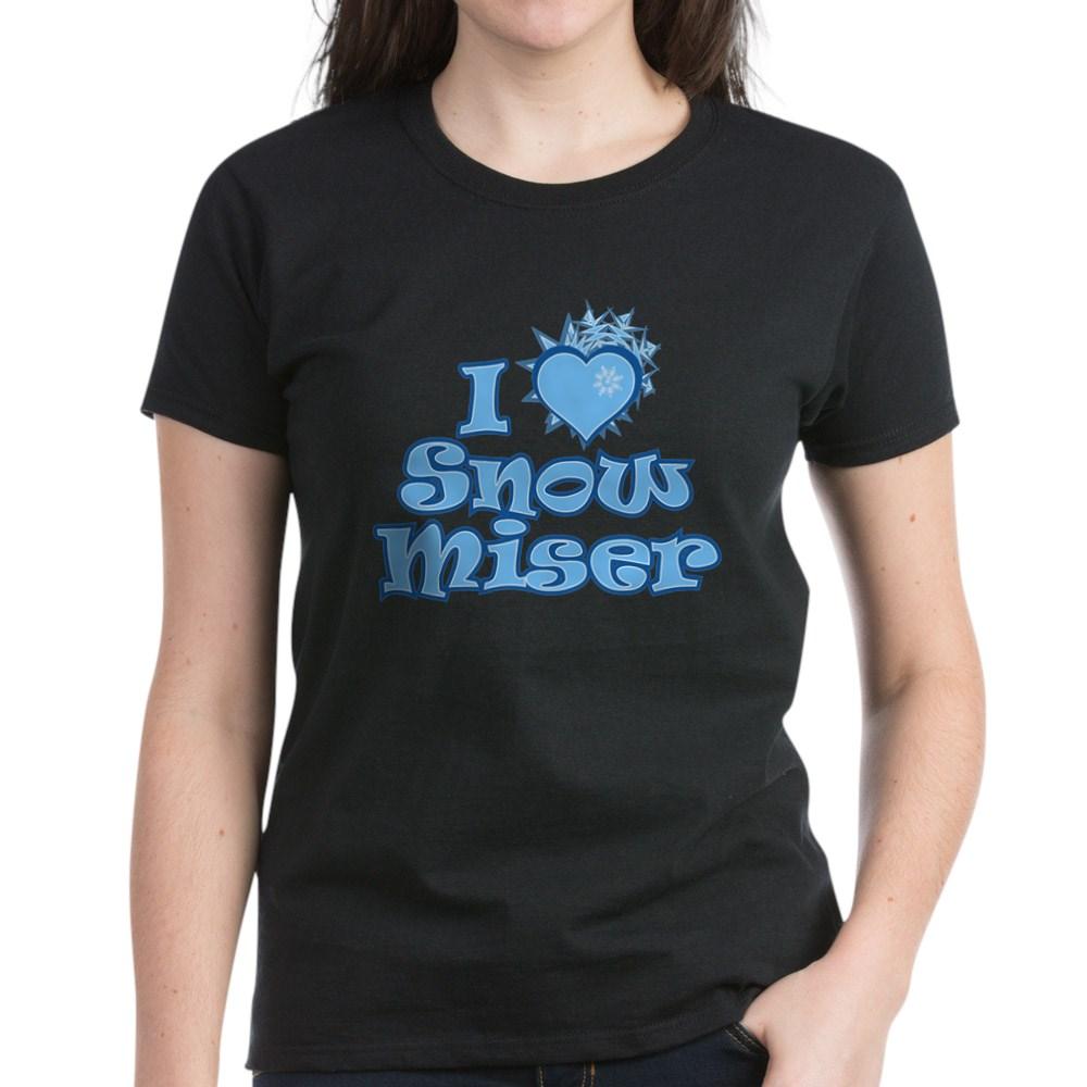 I Heart Snow Miser Women's Dark T-Shirt
