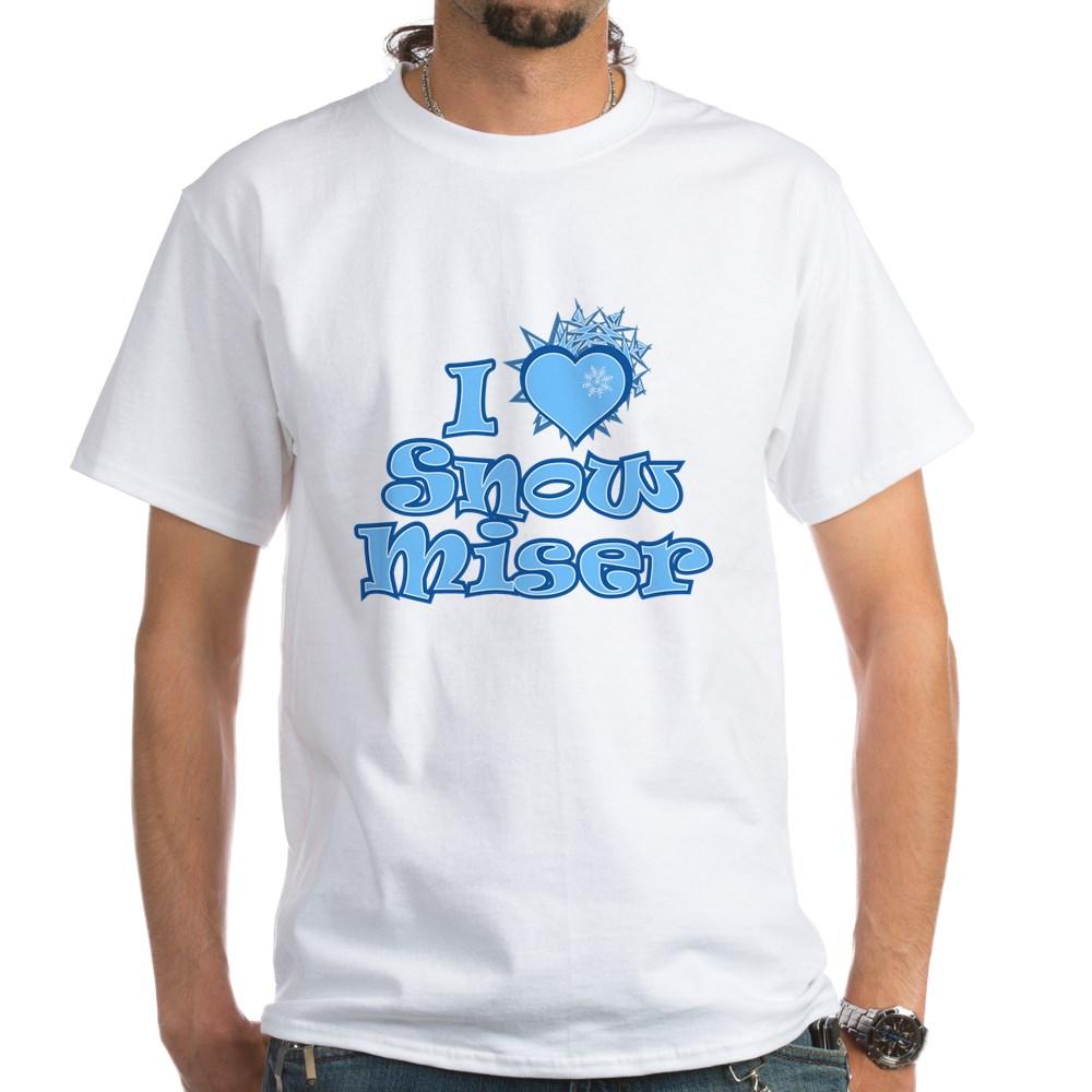 I Heart Snow Miser White T-Shirt