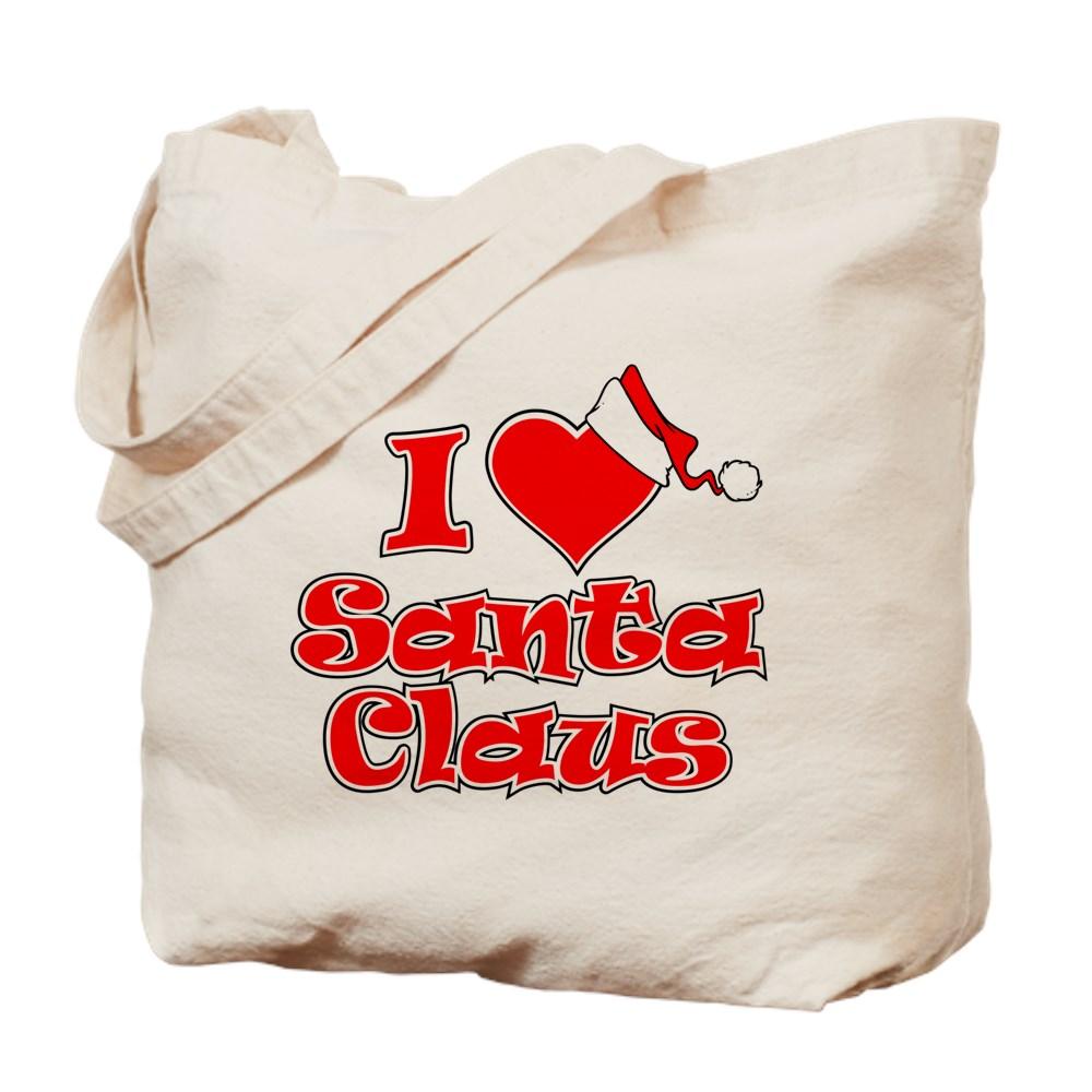 I Heart Santa Claus Tote Bag