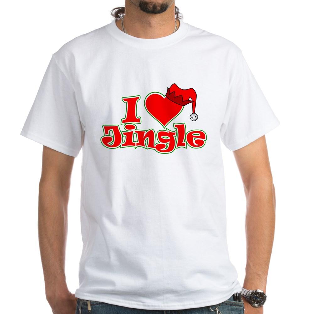 I Heart Jingle White T-Shirt
