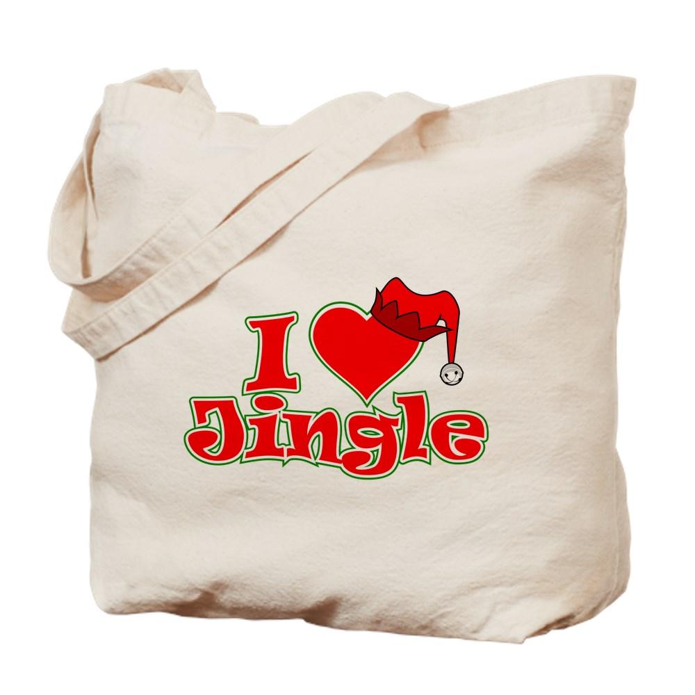 I Heart Jingle Tote Bag