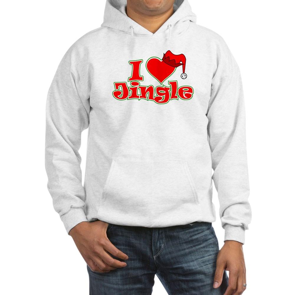 I Heart Jingle Hooded Sweatshirt