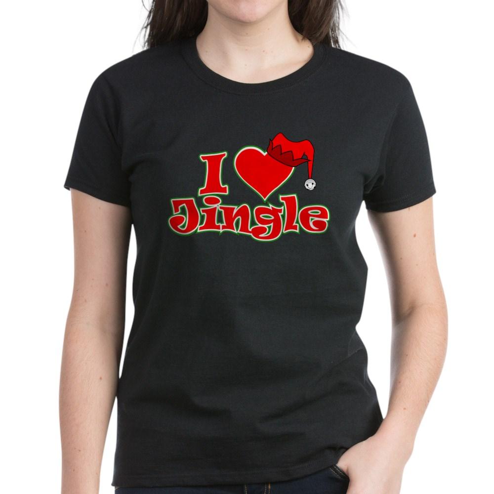 I Heart Jingle Women's Dark T-Shirt