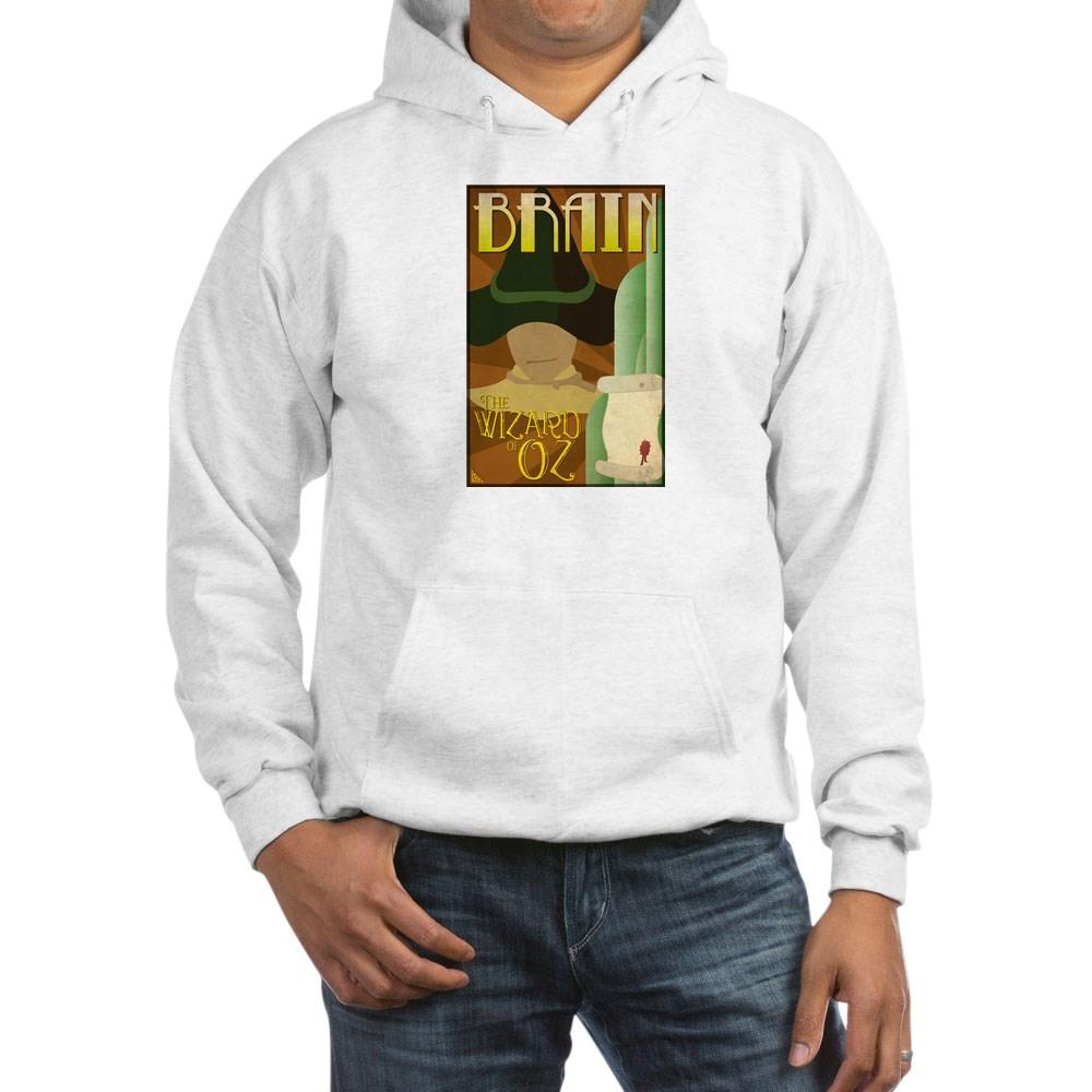 Wizard of Oz Scarecrow Deco Poster Design Hooded Sweatshirt