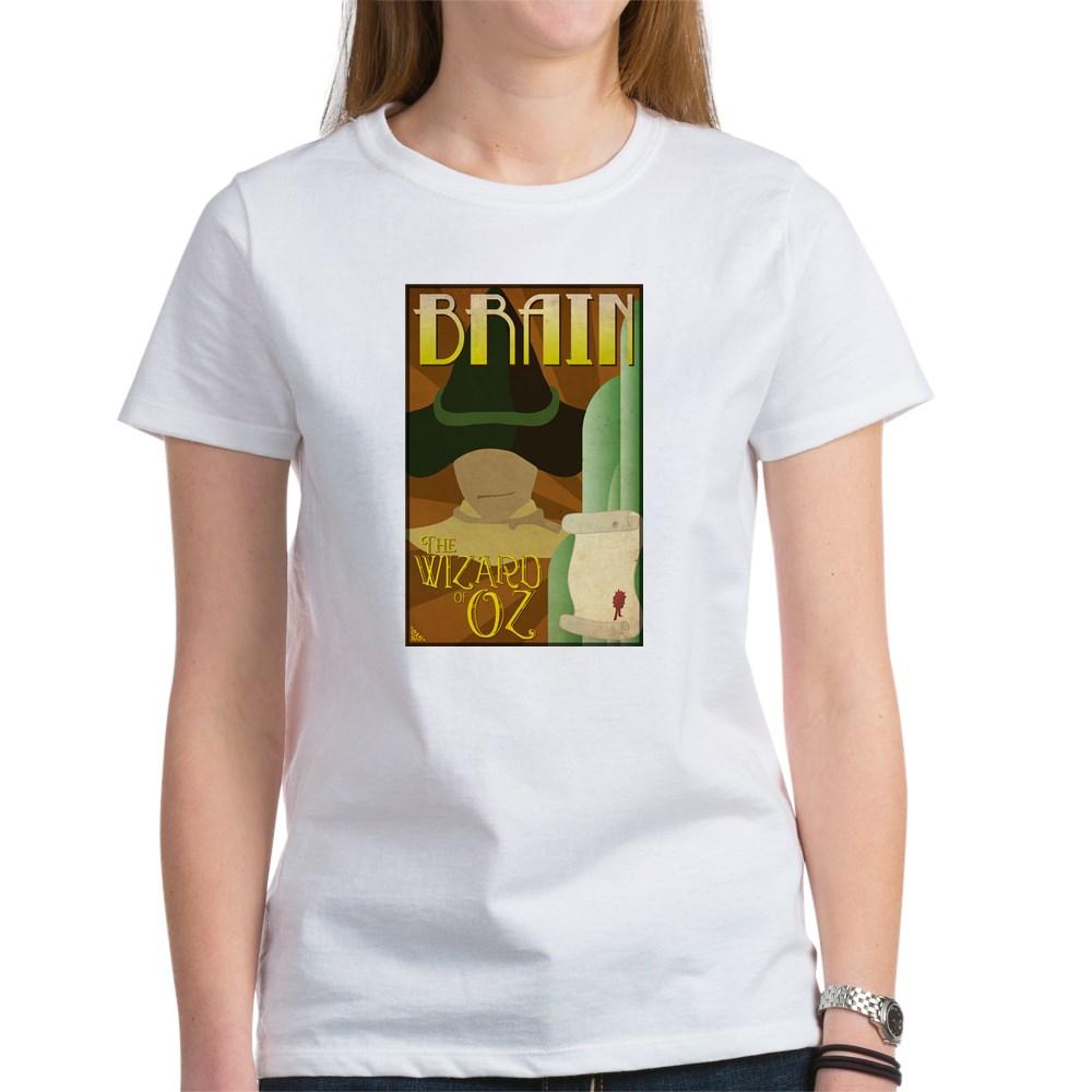 Wizard of Oz Scarecrow Deco Poster Design Women's T-Shirt