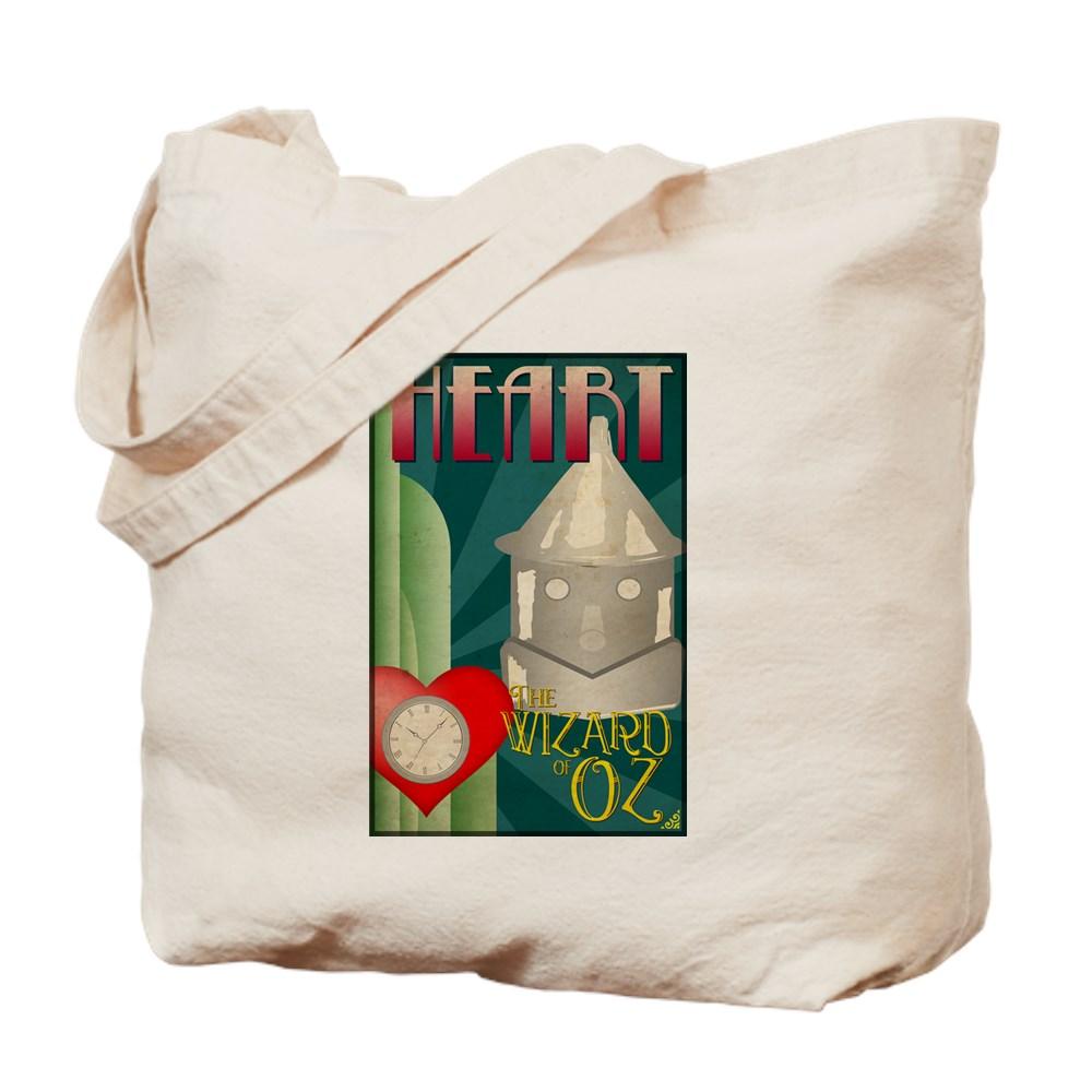 Wizard of Oz Tin Man Deco Poster Design Tote Bag