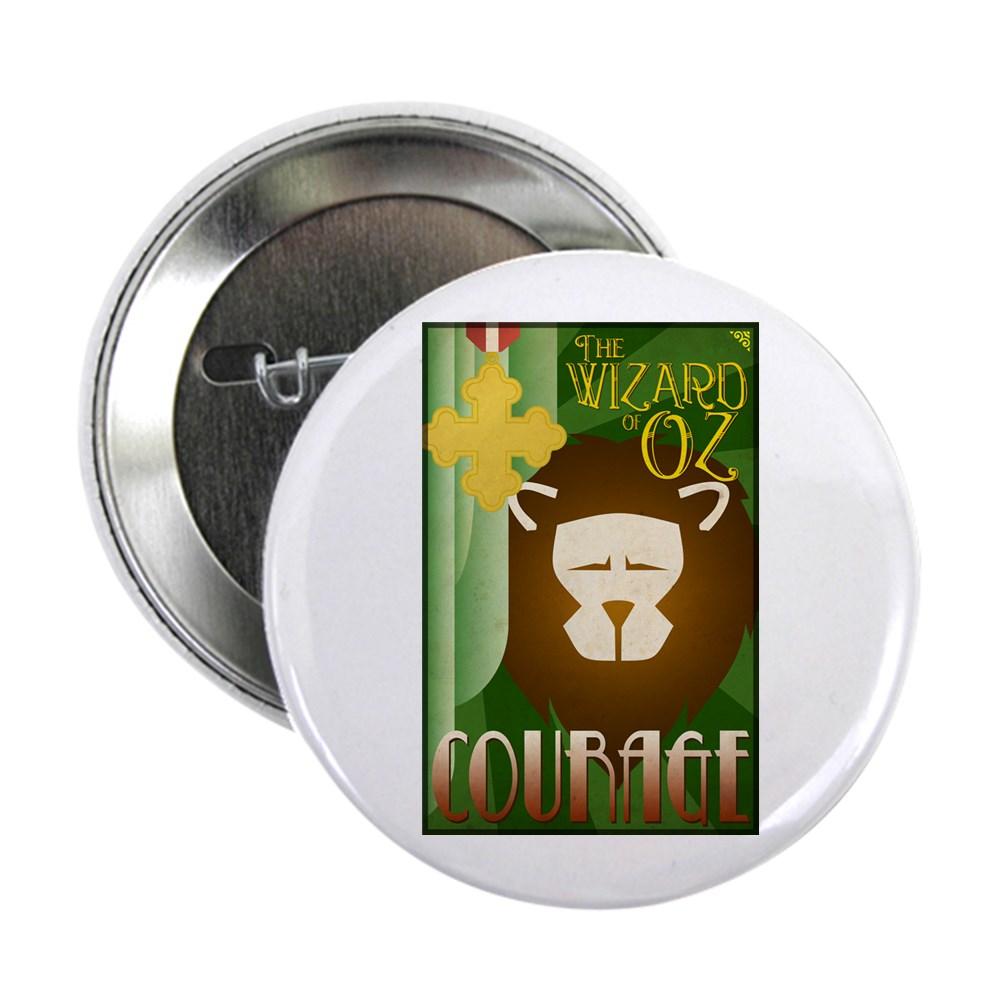 Wizard of Oz Cowardly Lion Deco Poster Design 2.25