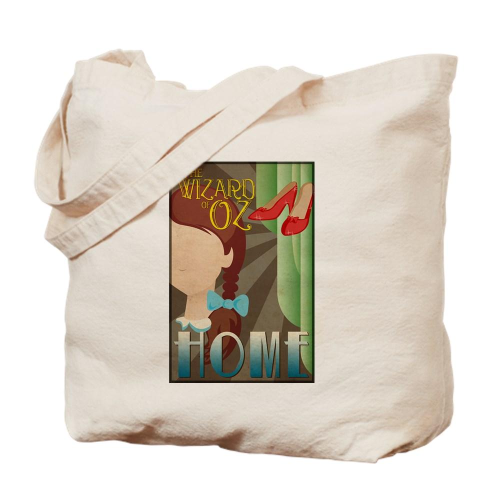 Wizard of Oz Dorothy Deco Poster Design Tote Bag