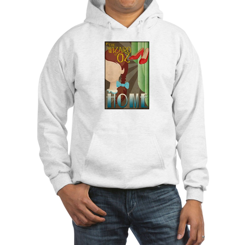 Wizard of Oz Dorothy Deco Poster Design Hooded Sweatshirt