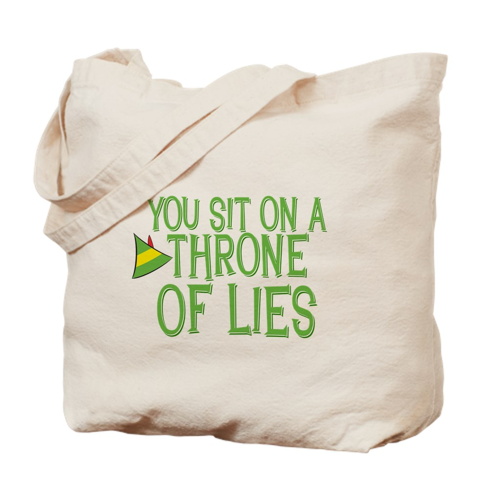 You Sit on a Throne of Lies Tote Bag