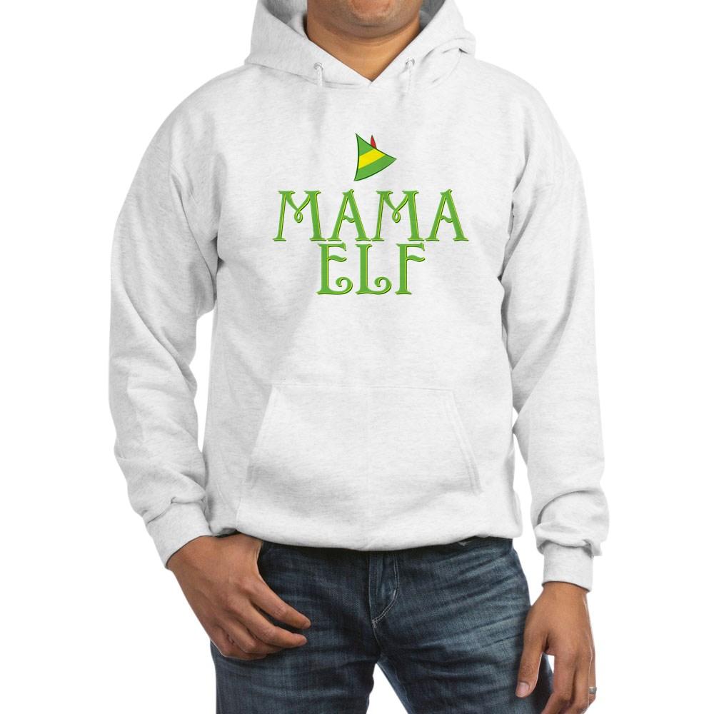 Mama Elf Hooded Sweatshirt