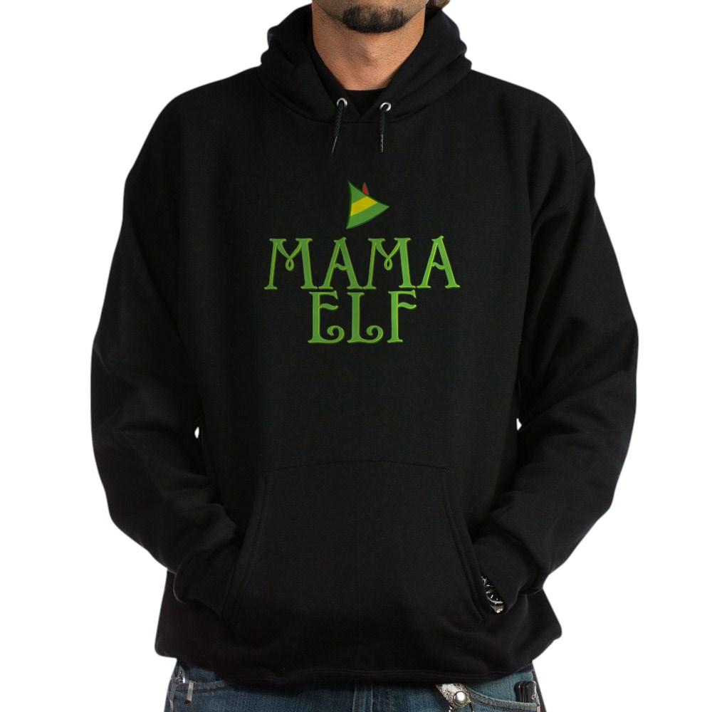 Mama Elf Dark Hoodie
