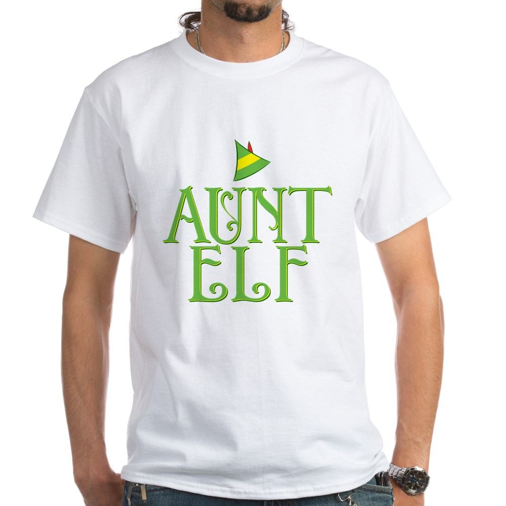 Aunt Elf White T-Shirt