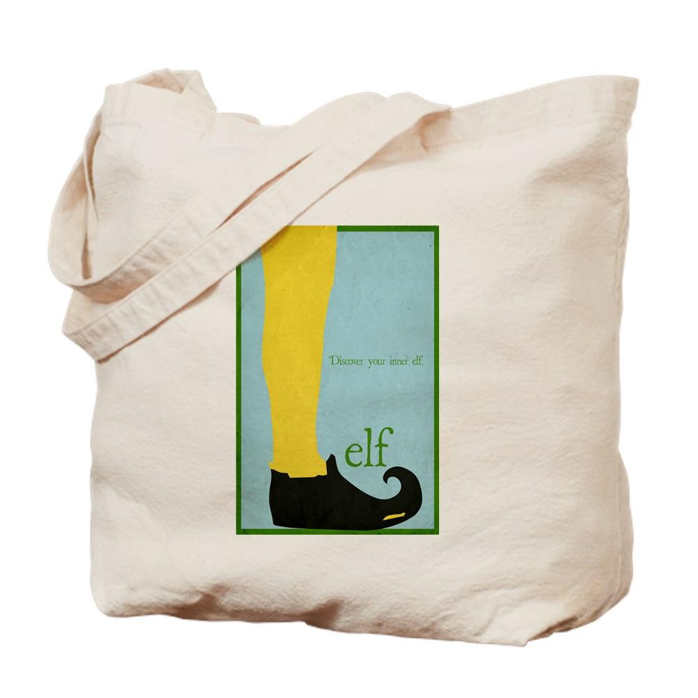 Elf Minimalist Poster Design Tote Bag