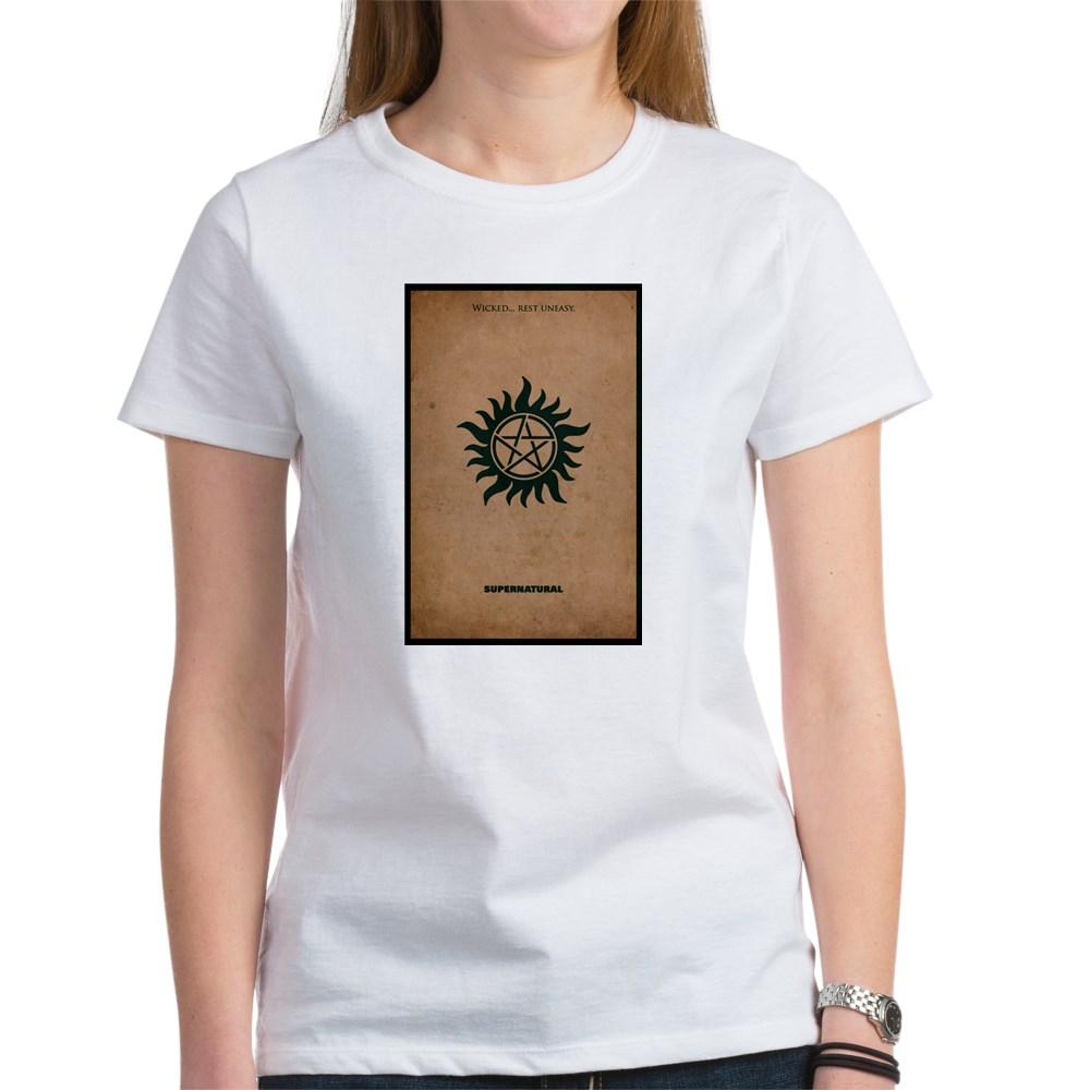 Supernatural MInimalist Poster Design Women's T-Shirt
