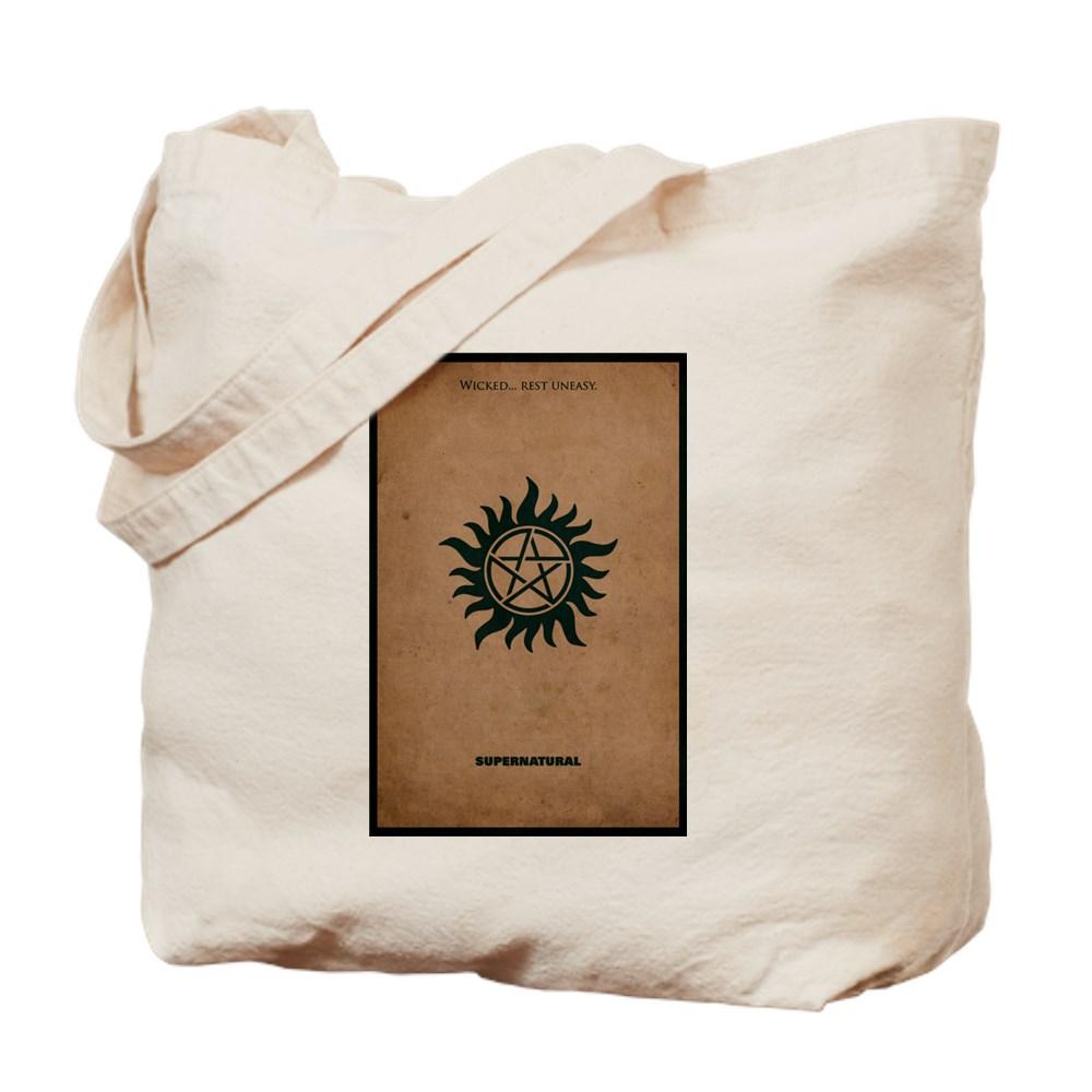 Supernatural MInimalist Poster Design Tote Bag