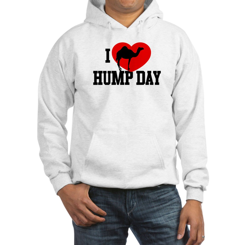 I Heart Hump Day Hooded Sweatshirt