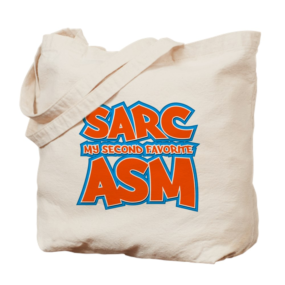Sarc, My Second Favorite Asm Tote Bag