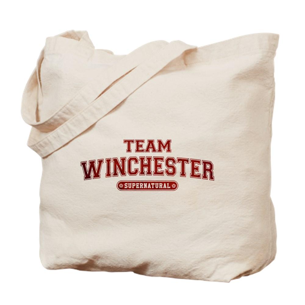 Supernatural Team Winchester Tote Bag