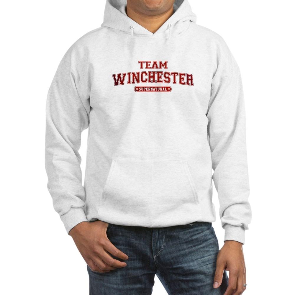 Supernatural Team Winchester Hooded Sweatshirt