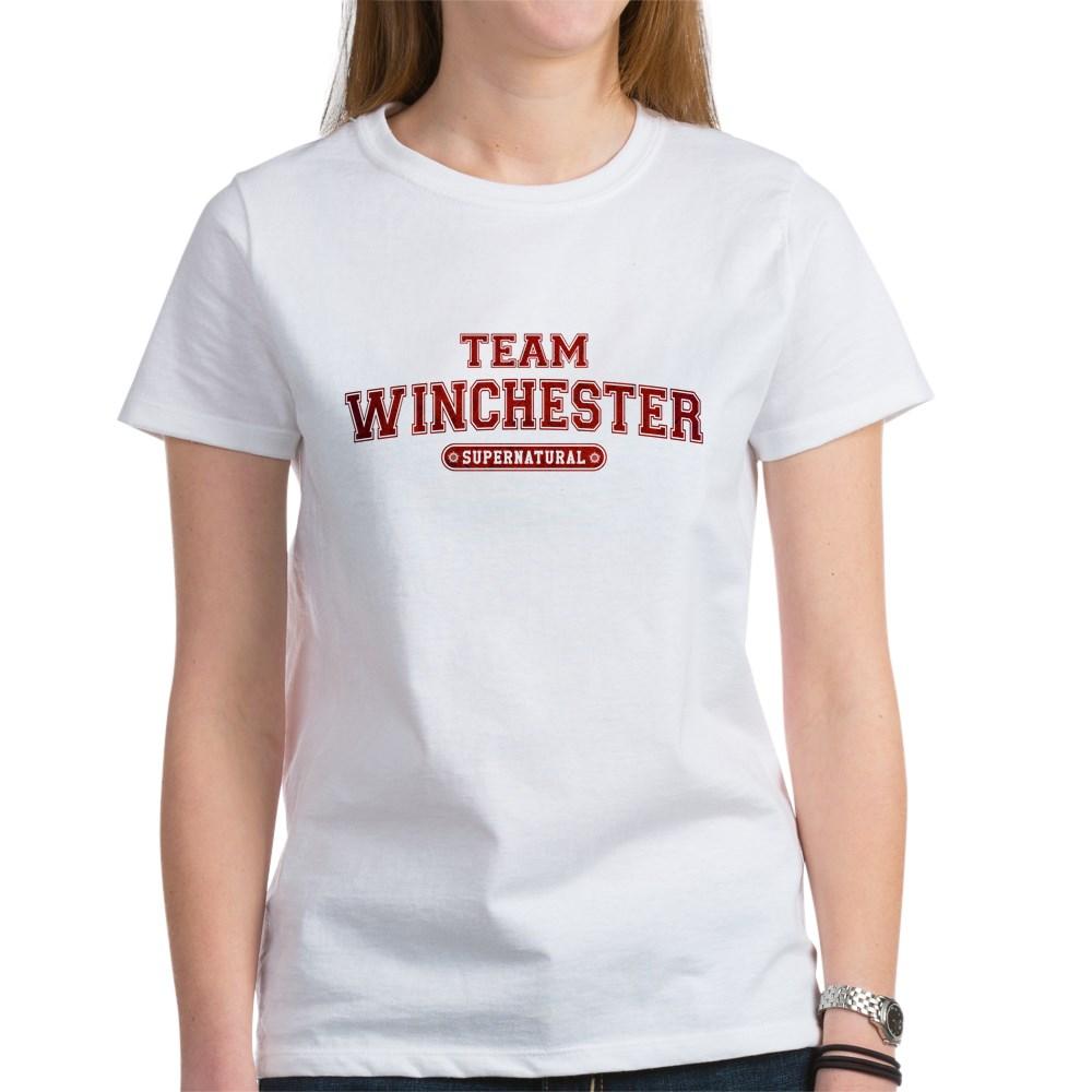 Supernatural Team Winchester Women's T-Shirt