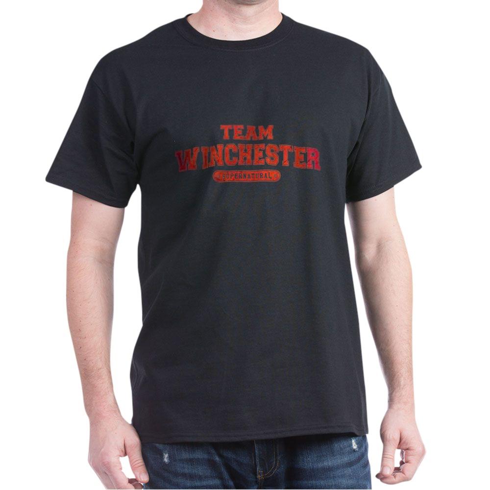 Supernatural Team Winchester Dark T-Shirt