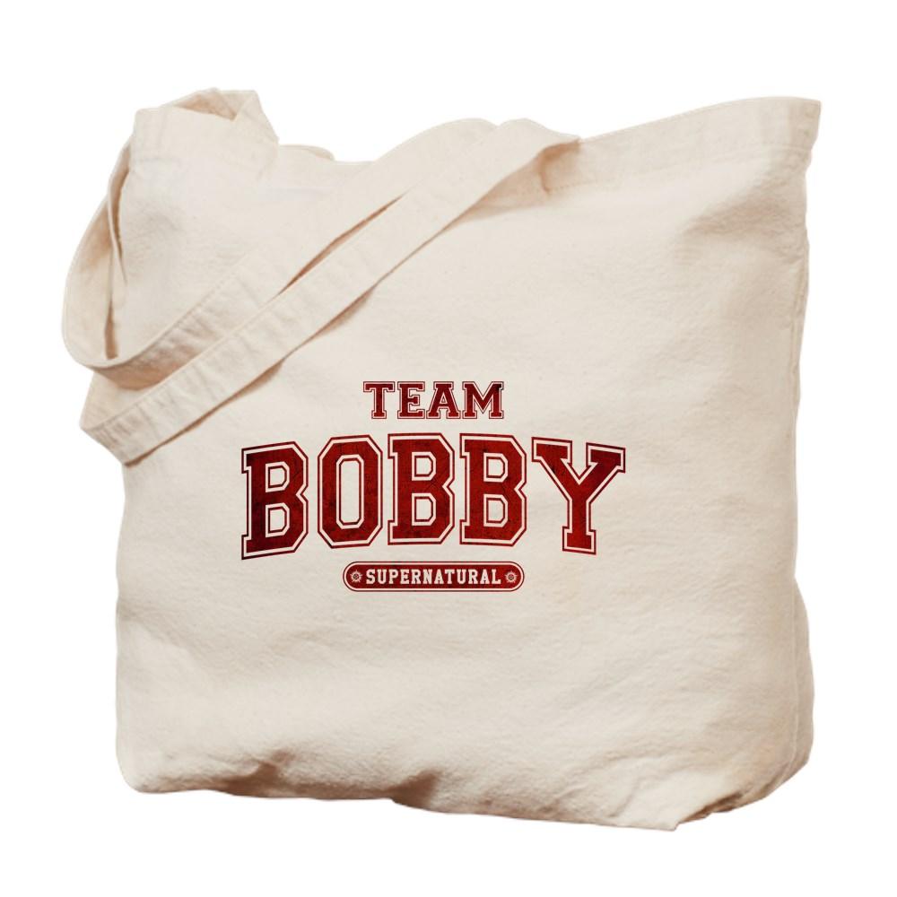 Supernatural Team Bobby Tote Bag