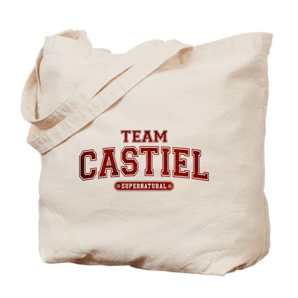 Supernatural Team Castiel Tote Bag