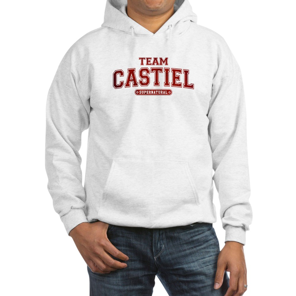 Supernatural Team Castiel Hooded Sweatshirt
