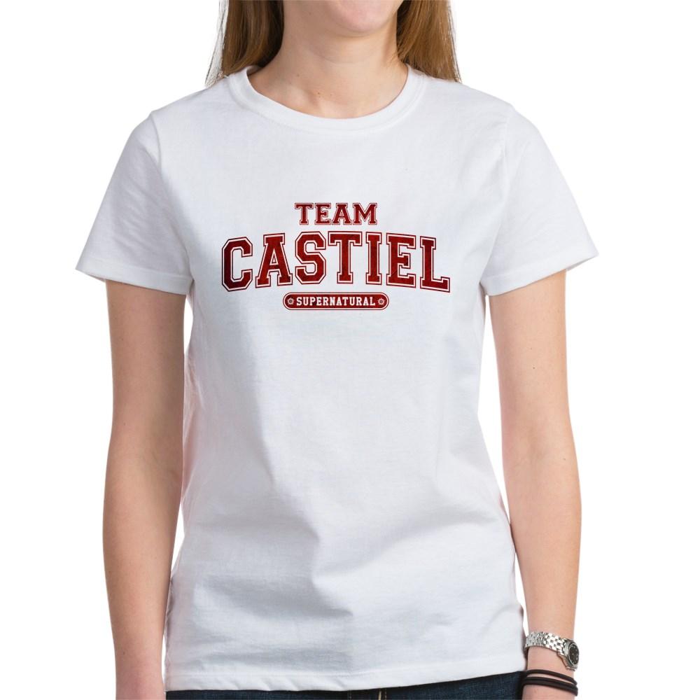 Supernatural Team Castiel Women's T-Shirt