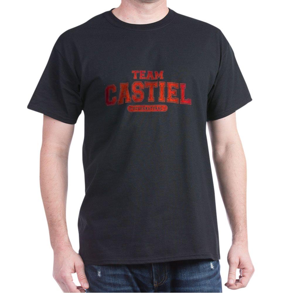 Supernatural Team Castiel Dark T-Shirt