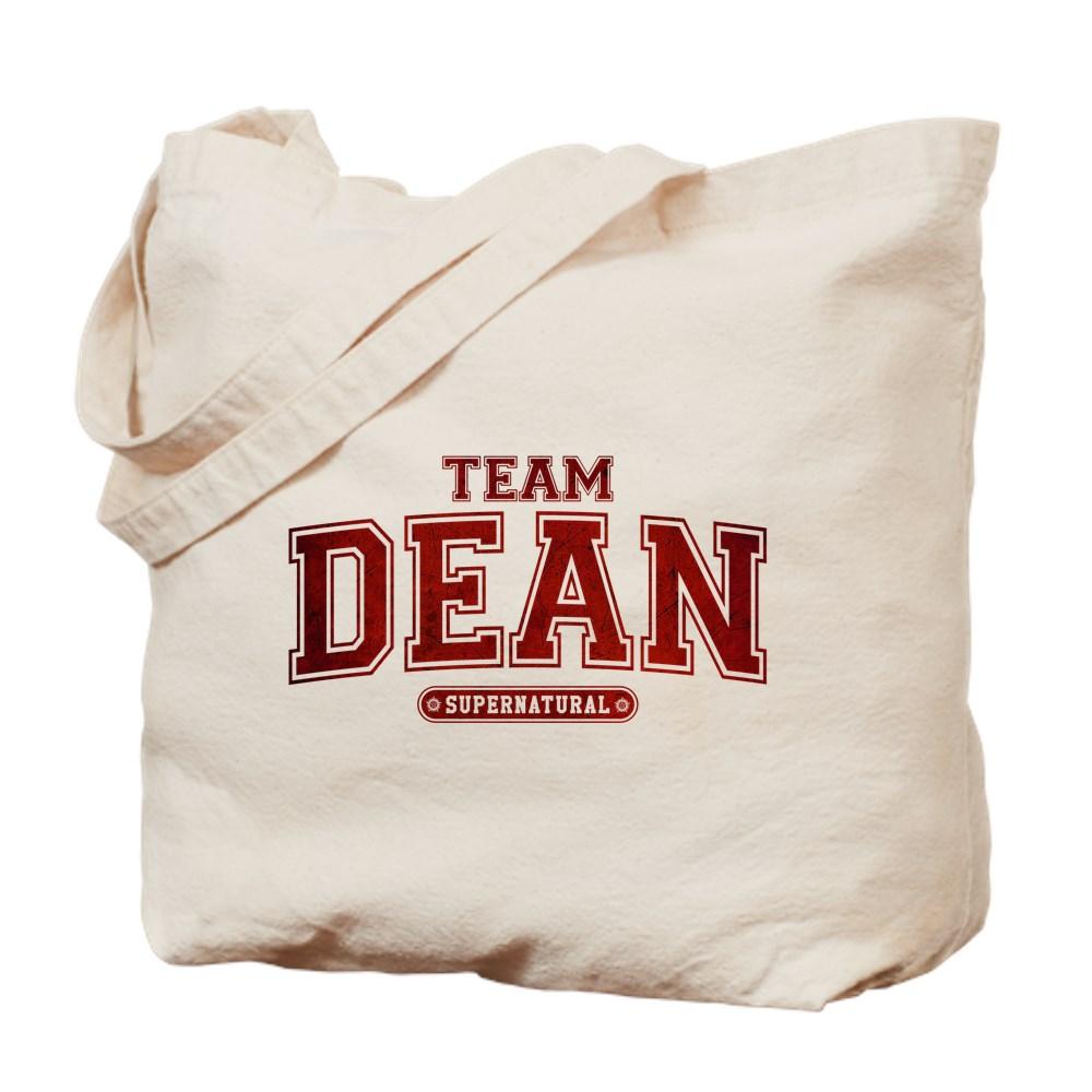 Supernatural Team Dean Tote Bag