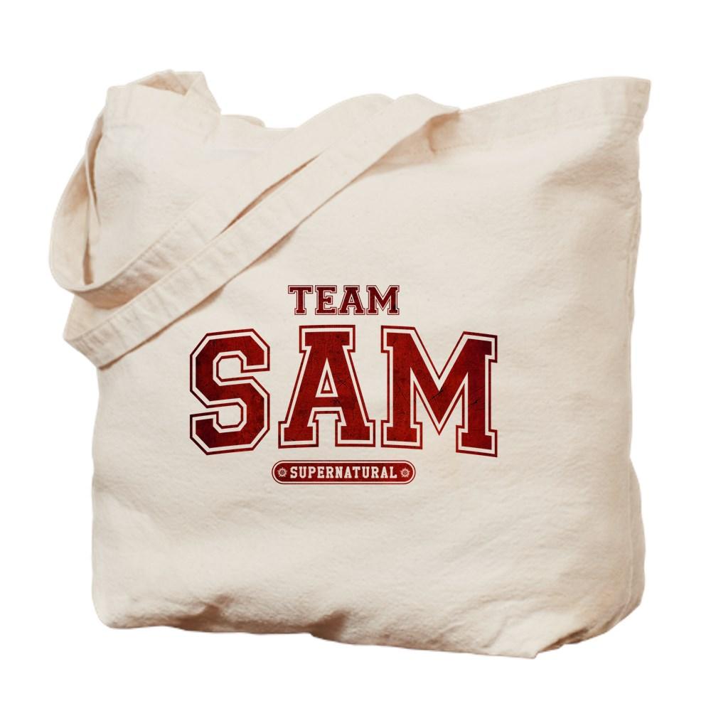 Supernatural Team Sam Tote Bag