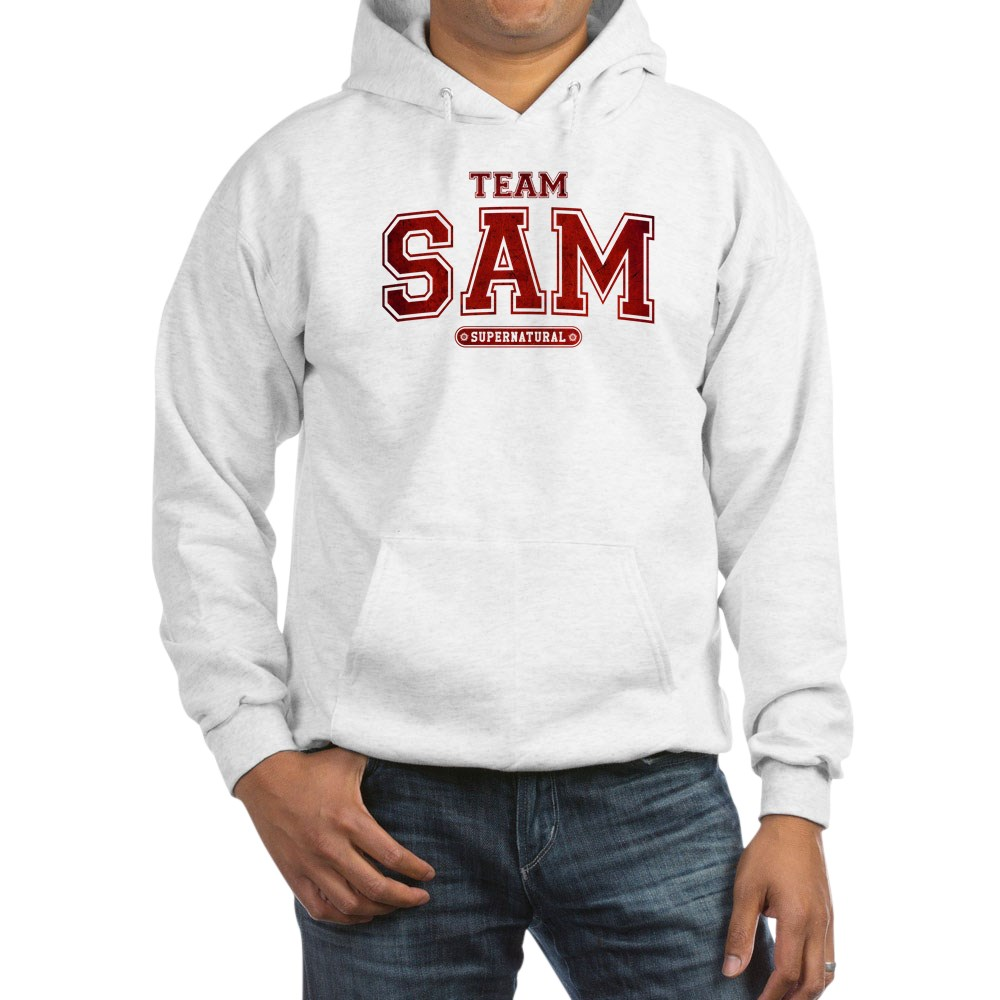 Supernatural Team Sam Hooded Sweatshirt