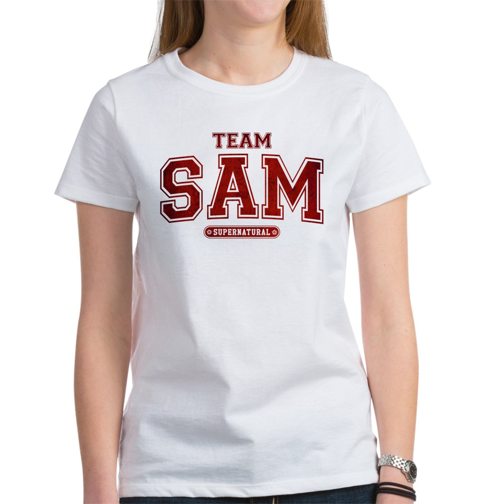 Supernatural Team Sam Women's T-Shirt