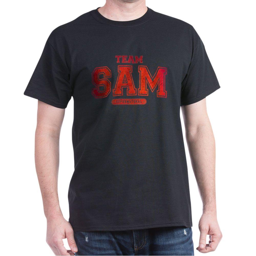 Supernatural Team Sam Dark T-Shirt