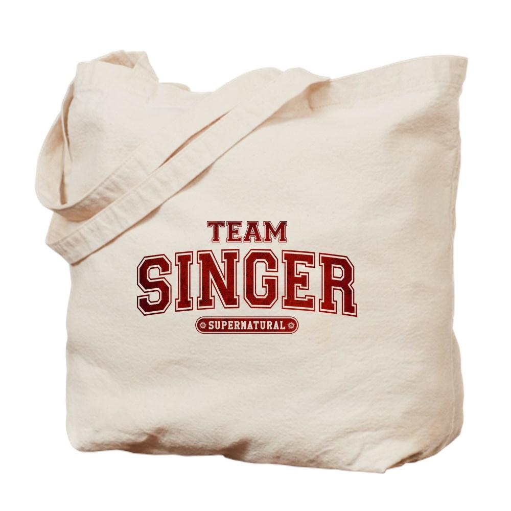 Supernatural Team Singer Tote Bag