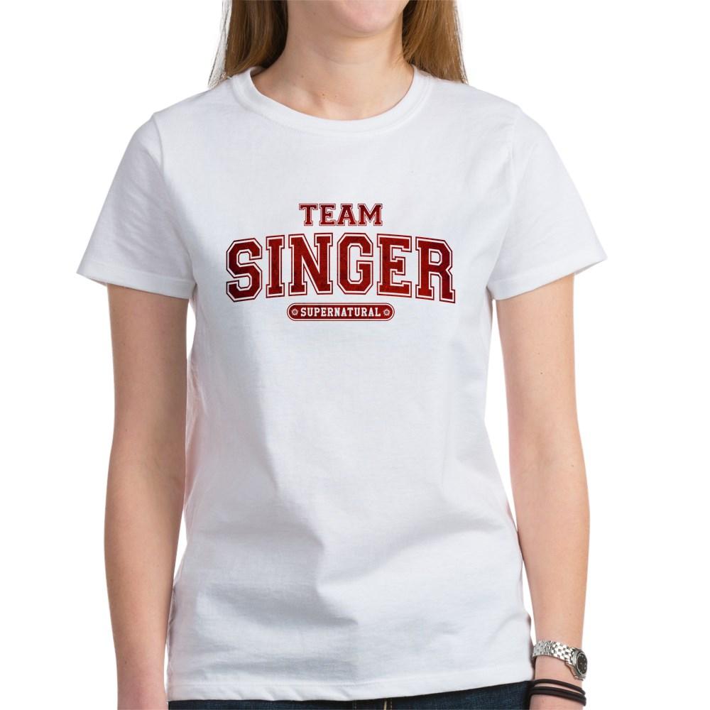 Supernatural Team Singer Women's T-Shirt