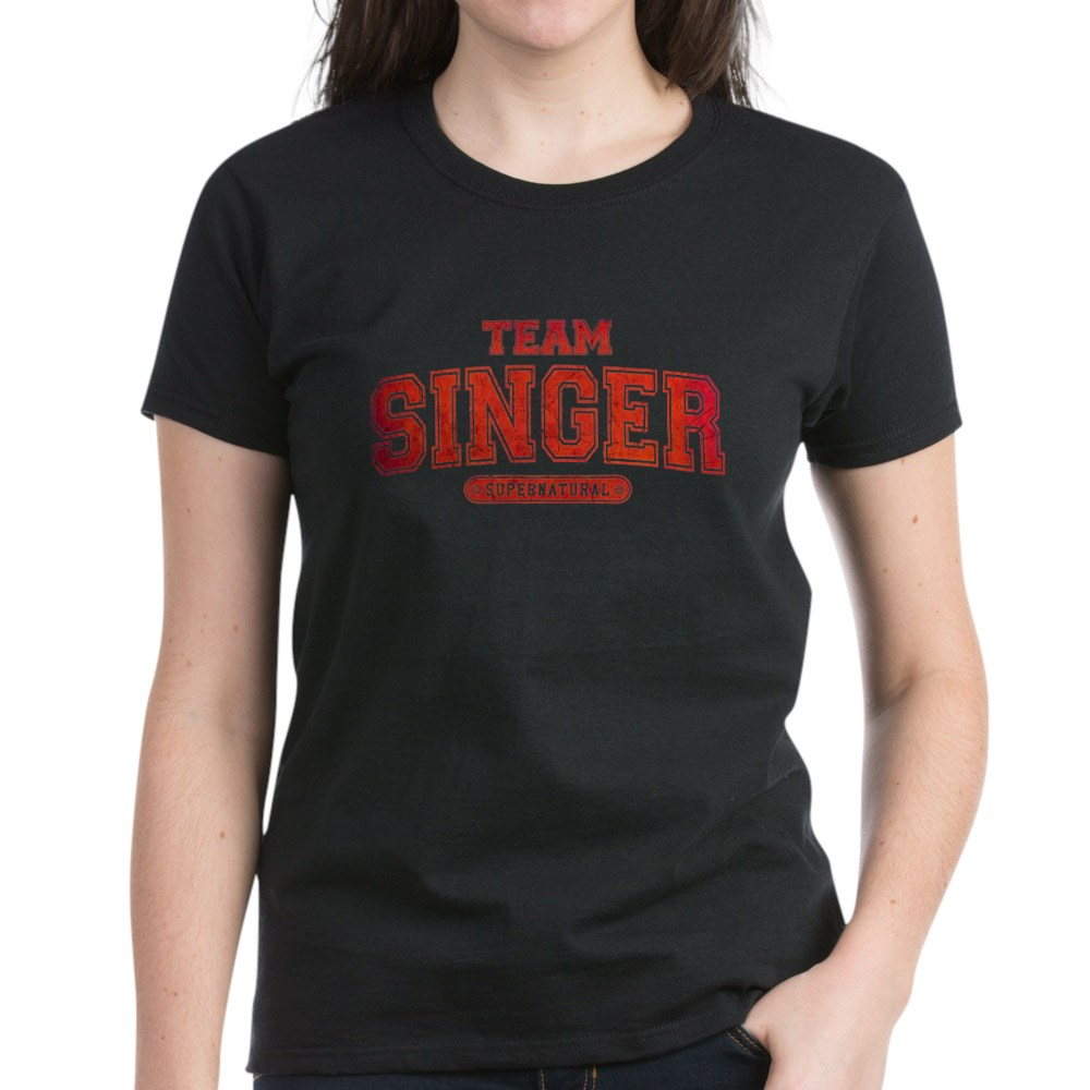 Supernatural Team Singer Women's Dark T-Shirt