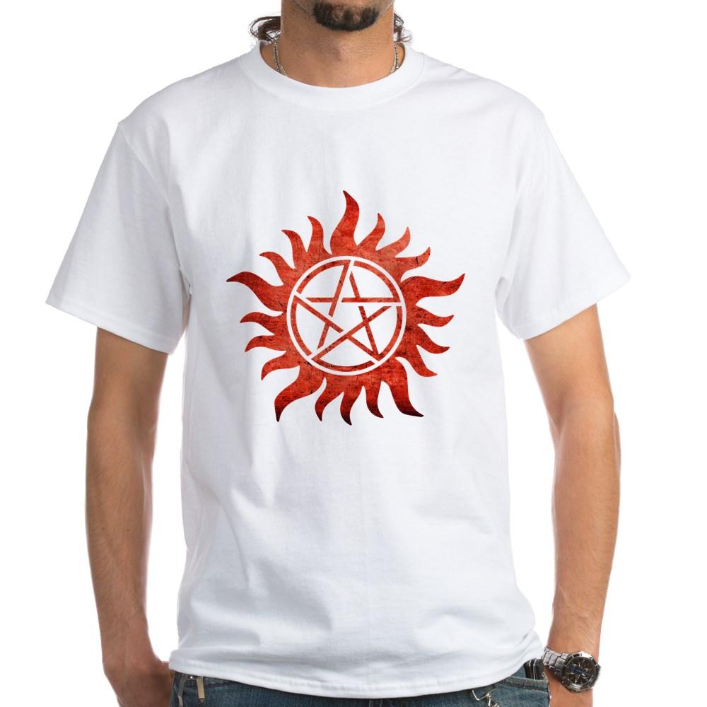Supernatural Anti-Possession Tattoo White T-Shirt