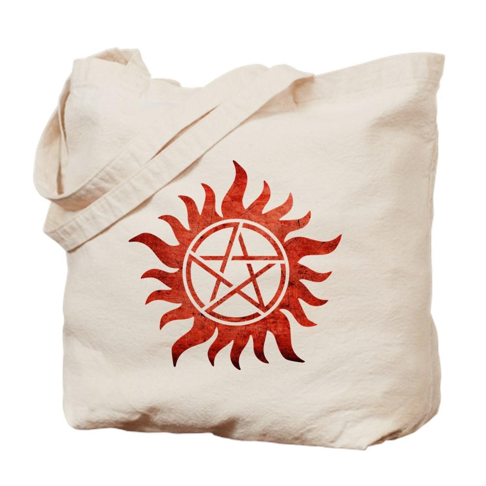 Supernatural Anti-Possession Tattoo Tote Bag