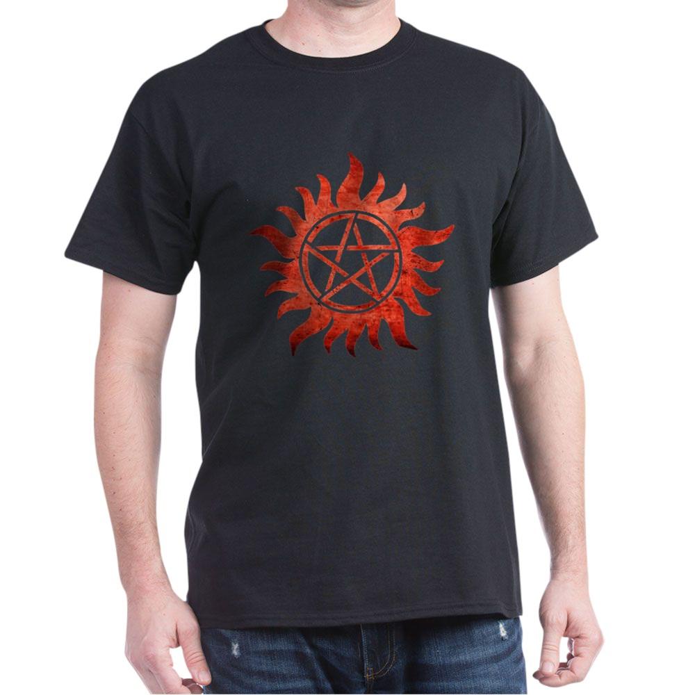 Supernatural Anti-Possession Tattoo Dark T-Shirt