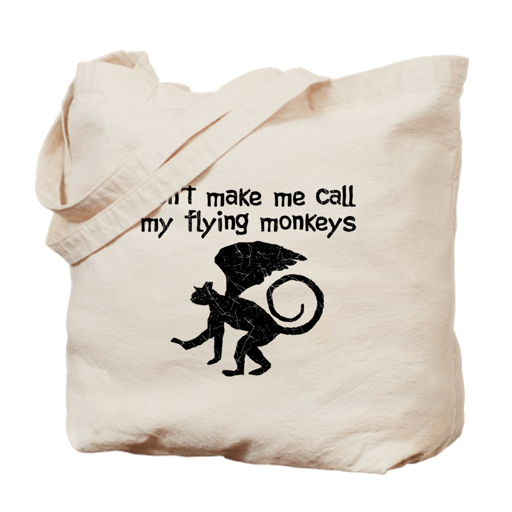 Distressed Don't Make Me Call My Flying Monkeys Tote Bag